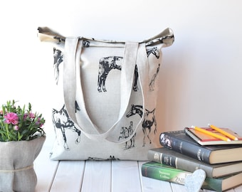 Canvas tote bag, Tote bag canvas, tote bag, Shopping bag, farmers market bag, linen, canvas tote, Linen bag, sac, sac cabas,canvas tote bags