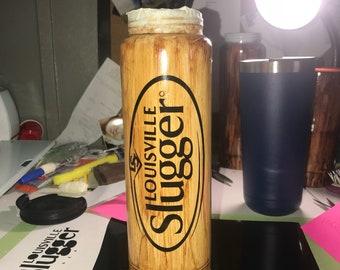 Louisville Slugger Stainless Baseball Bat Water Bottle