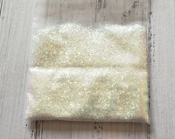 Glitter AB 0.4 mm 5 Gr 0.18 Oz #BAB01 / Nail art / resin / UV / Slime / Scrapbooking / crafting