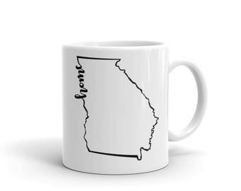 Georgia Home State - Coffee Mug