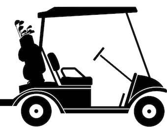 golf cart clip art etsy rh etsy com golf cart clip art images golf cart clip art free