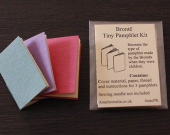 Brontë Miniature Pamphlet Kit - Triple pamphlet set