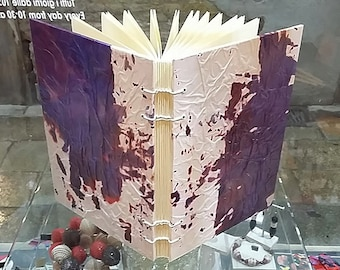 coptic journal,handbound journal,coptic binding,coptic stitch journal, blank journal, writing journal,gifts for writers, made in venice
