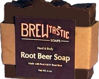 Root Beer Soap