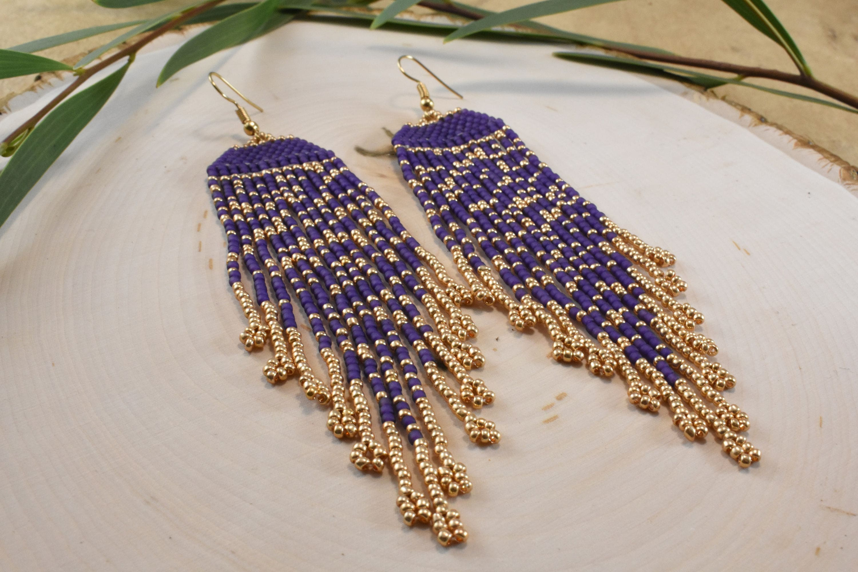earrings m hi intermix long fringe rosantica gold aquilone res holb