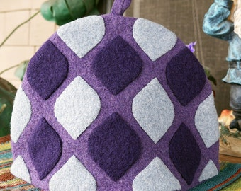 Purple Chai Tea Cozy