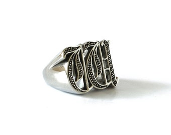 victorian buckle size ring english rings