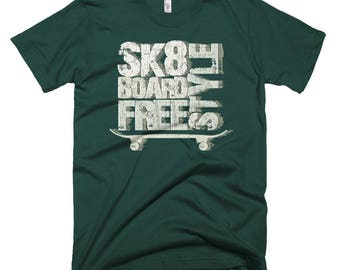 Skateboard Shirt   Skateboard T-Shirt   Skater Shirt   Skateboard Shirt    Skateboard Gift    Skater Gift   Skater Gift   Freestyle Skate