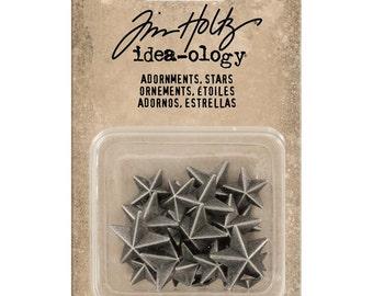 Tim Holtz Idea-ology Adornments - Stars