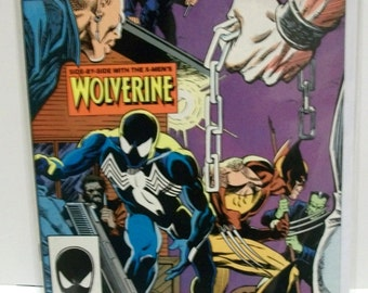 Spiderman 1987 Web of Spider-man  #29  Side By Side With Wolverine VG- VF Vintage Marvel Comic Book