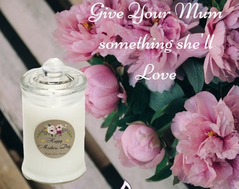 Mothers Day Soy Candle