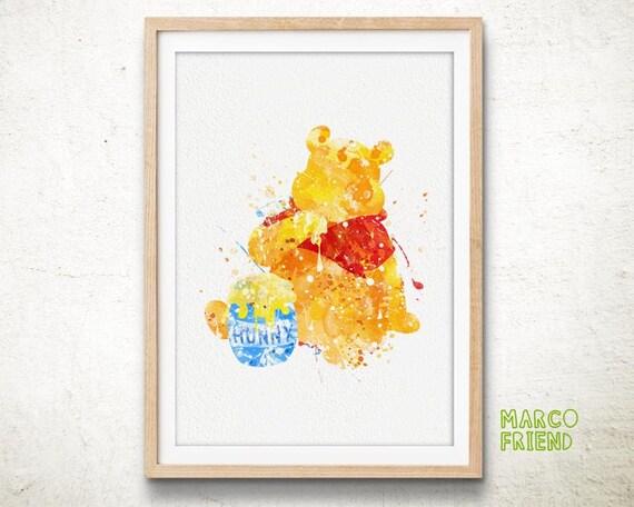 Disney Prints Winnie the Pooh Prints Bear Print Poster