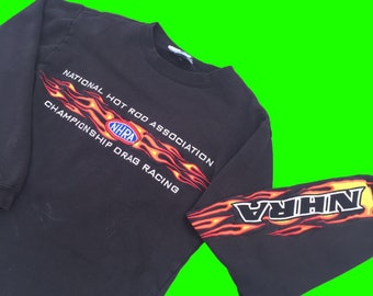 NHRA(National Hot Rod Association ) Sweatshirt mens size small