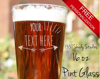 Private Listing for Anna - 6 Pint Glasses