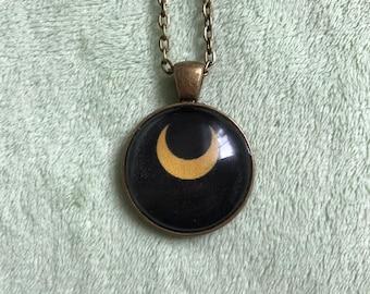 Luna Moon Pendant
