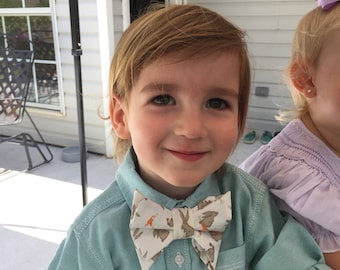 Easter Bunny Bow Ties for Boys