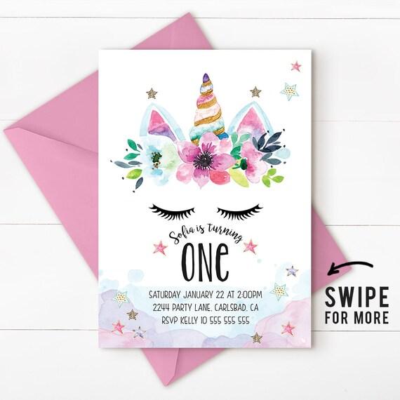 Unicorn birthday invitation unicorn invitation magical stopboris Image collections