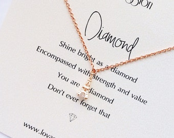 Rose gold Eiffel Tower Necklace, Eiffel Tower necklace, tiny Eiffel Tower necklace, inspirational necklace, graduation gift, meaningful gift