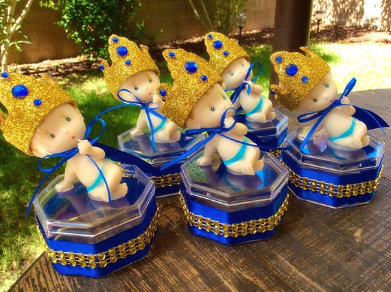 12 Royal Blue Baby Shower   Little Prince Baby Shower Little Prince Favors   Royal Blue Baby Shower  Royal Prince Baby Shower