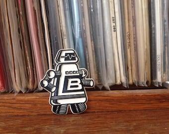 Robot Badge