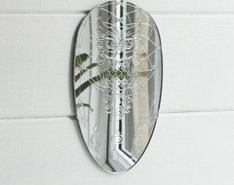 Owl Deam Catcher Acrylic Mirror
