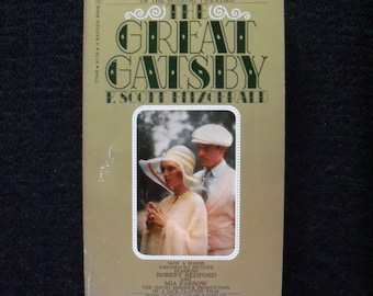 The Great Gatsby--Movie tie in edition (1974)