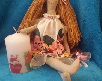 Handmade Doll/ Soft Doll/ Rag Doll/ Doll for Girl/ Doll for Gift/ Doll for Baby