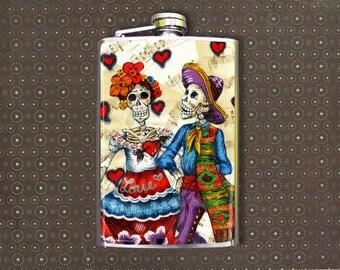 Flask 8oz True Love #123