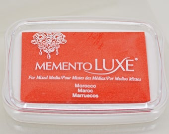 Memento Luxe Stamp Pad --  Morocco -- Mixed Media Full Size Stamp Pad