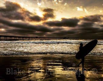 The Sunset Surfer (San Diego, California)