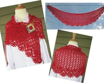 Yadkin Crochet Shawl pattern - pdf