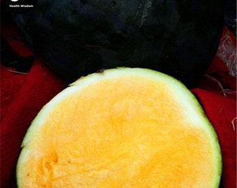 Buy Watermelon Fruit Seeds Plant Citrullus Lanatus Yellow Meat Watermelon