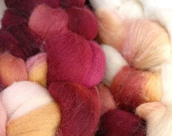 18.5 Micron Merino Wool Fibre 50g- Bloodwood