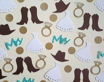 Country Chic Wedding, 200 Pieces, Country Confetti, Country Wedding, Wedding Confetti, Country Chic, Country Chic Decor, Country Party