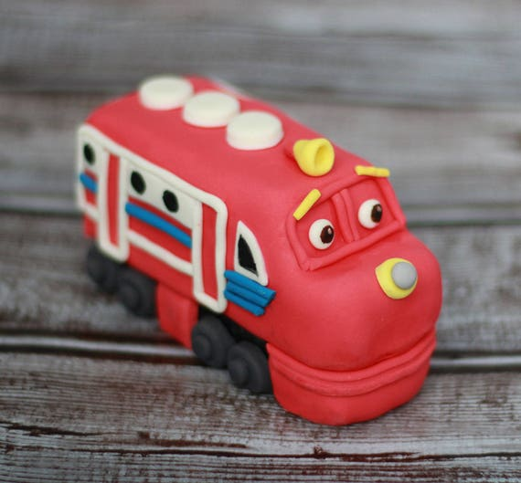Chuggington Train fondant cake topper Any character of