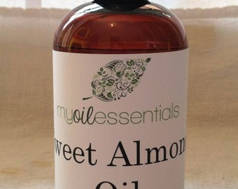 Sweet Almond Oil, Carrier Oil, Massage Oil