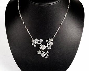 "Jewelry-Wedding-collar ""AGATHE"""