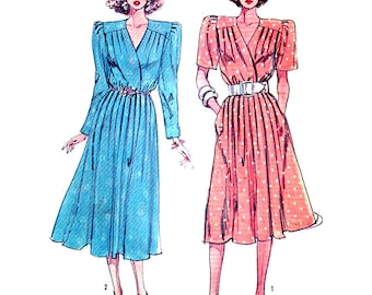 Simplicity Sewing Pattern 7940  Misses' Dress in two lengths  Size:  10  or 16  Uncut