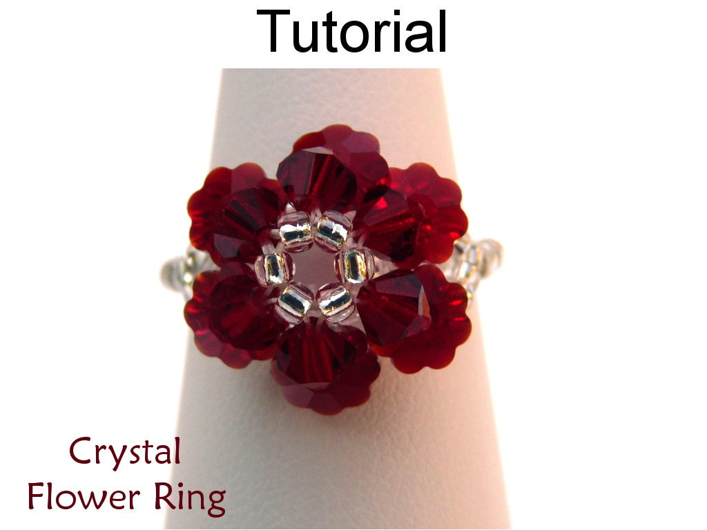 jewelry rings wrapped beaded tag ring emerging tutorials wire creatively