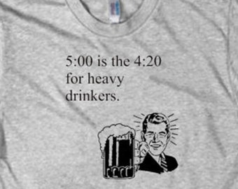 Heavy Drinkers funny shirt