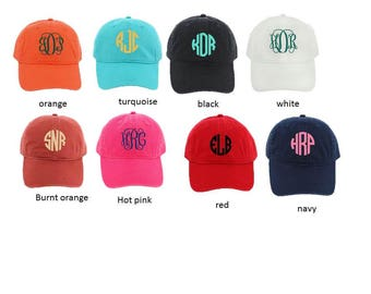 Womens Monogrammed Baseball Cap