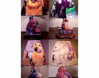 Personalized Dog Lamp and Lamp Shade  Your Dog Here  Perfect Gift Idea for Dog and Pet Lovers of ANY BREED
