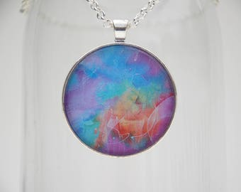 The Call Art Pendant Necklace