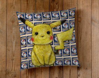 Decorative Pillow of Pikachu from Pokemon