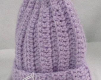 Newborn, 0/3 Mos Cap, Handmade, Crocheted