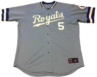 Vintage Kansas City Royals George Brett Jersey