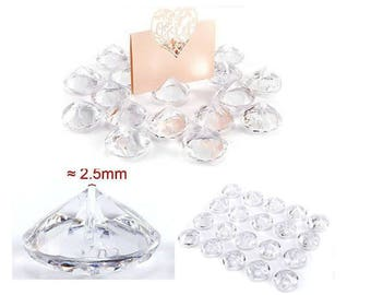 20pc Place Card Holder Acrylic Crystal Wedding Favours Table Centerpiese Decor