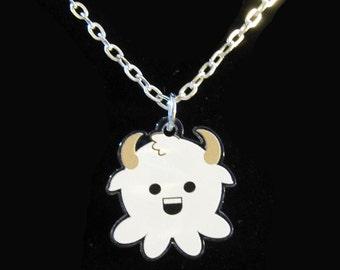 Western Zodiac Capricorn Octopus Necklace