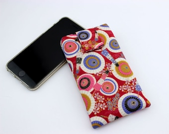 iPhone 6 Sleeve Cover Case, Customize to your phone,Umbrella Red
