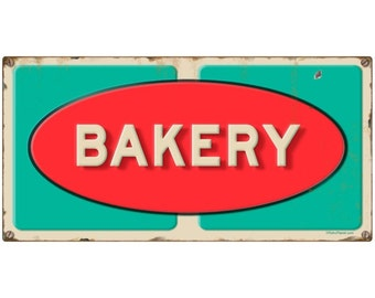 Bakery Grocery Store Wall Decal Distressed #49560